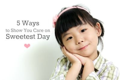 5 Ways To Show You Care On Sweetest Day