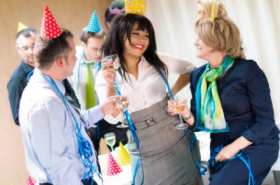 Make Your New Year's Eve Party A Green Party