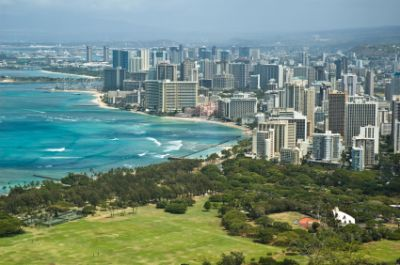 Downtown Honolulu, Hawaii