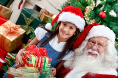 Get Pictures With Santa At Exclusive Make-A-Wish Event