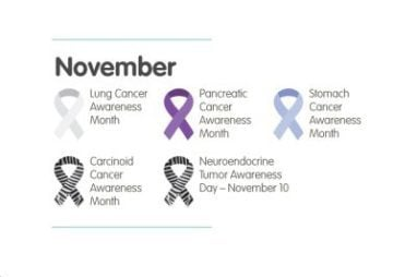 November Is Lung, Stomach, And Pancreatic Cancer Awareness Month