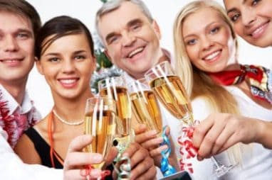 Tips To Make Your New Year's Party A Green One