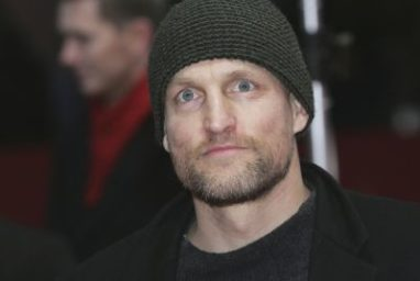 Woody Harrelson Travels Consciously In Eco-Friendly Bus