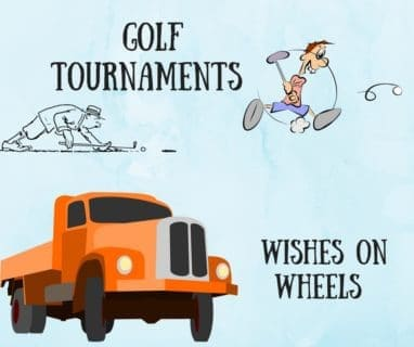 Big Trucks And Golf, What More Do You Need?
